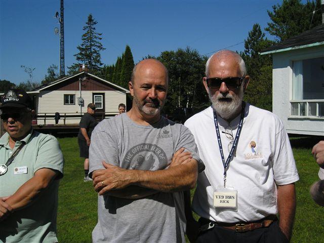 Jim VE1JBL & Rick VE9RWS