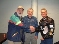 Rick VERWS, Bob VE1DR & Brad VE1ZX
