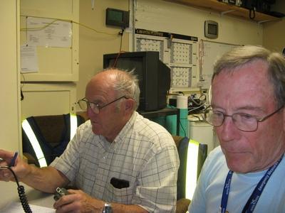 Al VE1ZS (left) & Jim VE1CHI