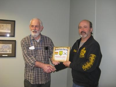 Rick VE9RWS (left)