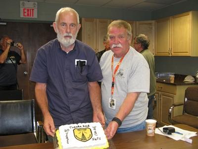 Rick VE9RWS & Bob VE1EDP